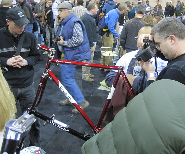 2009 NAHBS Award winning paint at the show